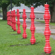 Red Totems in Elm Park